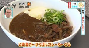 NHK | あさイチ「ピカピカ☆日本」のコーナーにて、「淡路島ポークのぼっカレーぬーどる」が紹介されました!