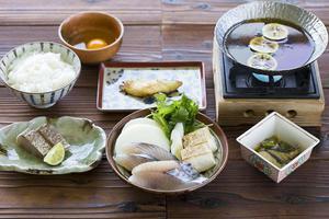 淡路島の裏旬サワラ 柚子すき鍋コース